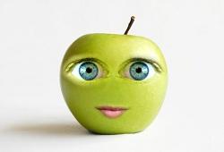 маска из яблок для лица